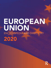 European Union Encyclopedia and Directory 2020 - 20th Edition book cover