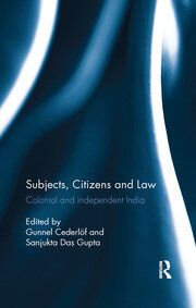 Subjects, Citizens and Law - 1st Edition book cover