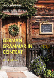 German Grammar in Context - 3rd Edition book cover