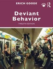 Deviant Behavior - 12th Edition book cover