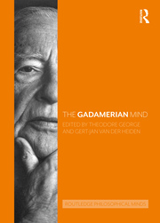 The Gadamerian Mind Book Cover