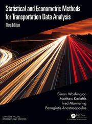 Statistical and Econometric Methods for Transportation Data Analysis - 3rd Edition book cover