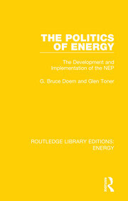 The Politics of Energy - 1st Edition book cover