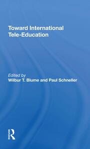 Toward International Tele-Education - 1st Edition book cover