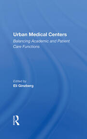 Urban Medical Centers - 1st Edition book cover