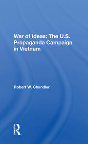 War Of Ideas - 1st Edition book cover