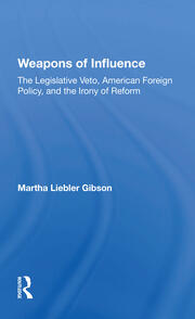 Weapons Of Influence - 1st Edition book cover