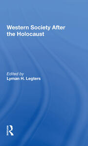 Western Society After The Holocaust - 1st Edition book cover