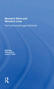 Women's Work And Women's Lives - 1st Edition book cover
