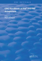 Handbook of PAF and PAF Antagonists - 1st Edition book cover