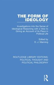 The Form of Ideology - 1st Edition book cover