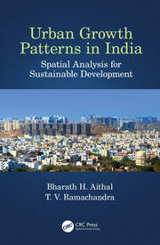 Urban Growth Patterns in India : Spatial Analysis for Sustainable Development - 1st Edition book cover