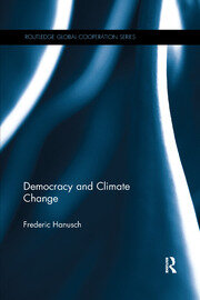 Democracy and Climate Change - 1st Edition book cover