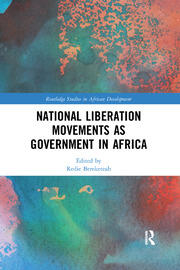 National Liberation Movements as Government in Africa - 1st Edition book cover