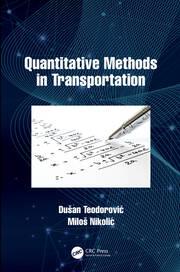 Quantitative Methods in Transportation - 1st Edition book cover