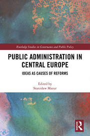 Public Administration in Central Europe -  1st Edition book cover