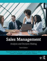 Sales Management - 10th Edition book cover