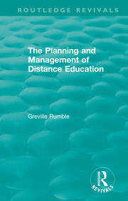 The Planning and Management of Distance Education - 1st Edition book cover