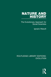 Nature and History - 1st Edition book cover