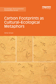 Carbon Footprints as Cultural-Ecological Metaphors - 1st Edition book cover