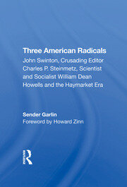 Three American Radicals - 1st Edition book cover