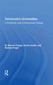 Tomorrow's Universities - 1st Edition book cover