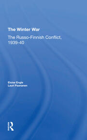 The Winter War - 1st Edition book cover