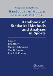Handbook of Statistical Methods and Analyses in Sports -  1st Edition book cover