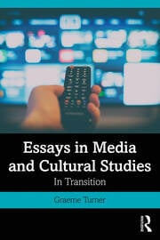 Essays in Media and Cultural Studies - 1st Edition book cover