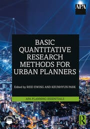 Basic Quantitative Research Methods for Urban Planners - 1st Edition book cover