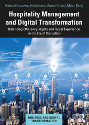 Hospitality Management and Digital Transformation - 1st Edition book cover