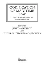 Codification of Maritime Law - 1st Edition book cover