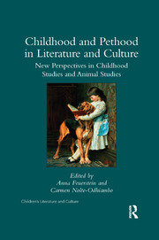 Childhood and Pethood in Literature and Culture - 1st Edition book cover