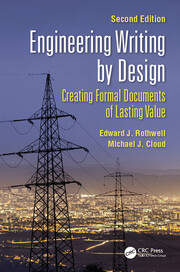Engineering Writing by Design -  2nd Edition book cover