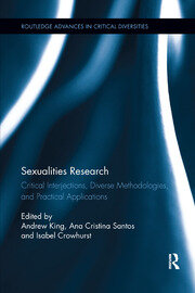 Sexualities Research - 1st Edition book cover