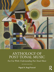 Anthology of Post-Tonal Music - 2nd Edition book cover