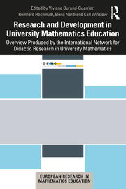 Research and Development in University Mathematics Education - 1st Edition book cover