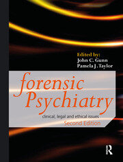 Forensic Psychiatry - 2nd Edition book cover