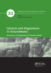 Calcium and Magnesium in Groundwater - 1st Edition book cover