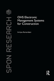 OHS Electronic Management Systems for Construction - 1st Edition book cover