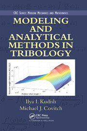 Modeling and Analytical Methods in Tribology - 1st Edition book cover