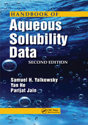 Handbook of Aqueous Solubility Data - 2nd Edition book cover