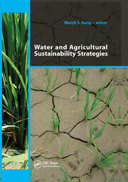Water and Agricultural Sustainability Strategies - 1st Edition book cover