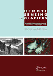 Remote Sensing of Glaciers - 1st Edition book cover