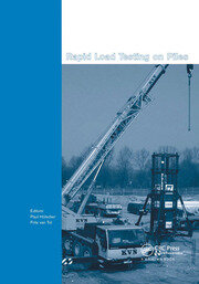 Rapid Load Testing on Piles - 1st Edition book cover