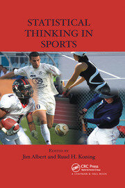 Statistical Thinking in Sports - 1st Edition book cover