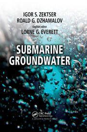 Submarine Groundwater - 1st Edition book cover
