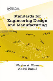 Standards for Engineering Design and Manufacturing - 1st Edition book cover