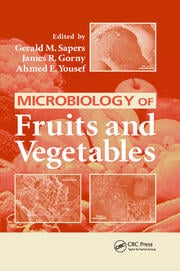 Microbiology of Fruits and Vegetables - 1st Edition book cover
