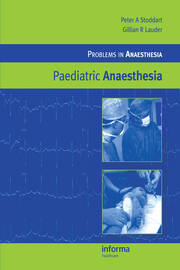 Paediatric Anaesthesia - 1st Edition book cover